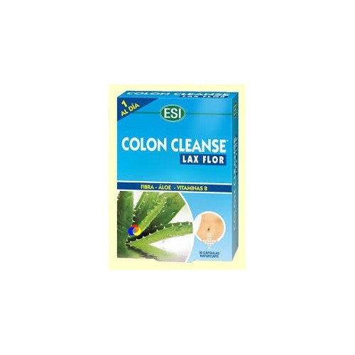 ESI COLON CLEANSE + PREBIOTICOS 30 CAP (AZUL)