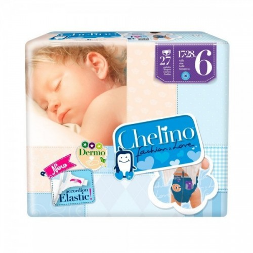 CHELINO PAÑALES T 6 27 UD