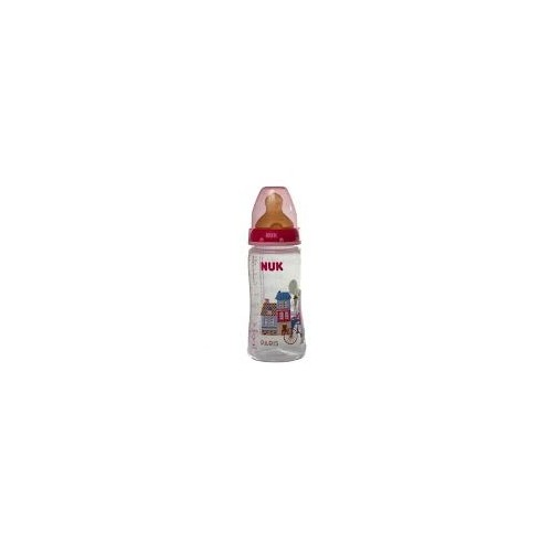 NUK BIBERON FC + PP LATEX TRAVEL 1 M 300 ML