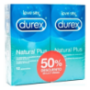 DUREX NATURAL PLUS DUPLO PACK AHORRO 12 + 12