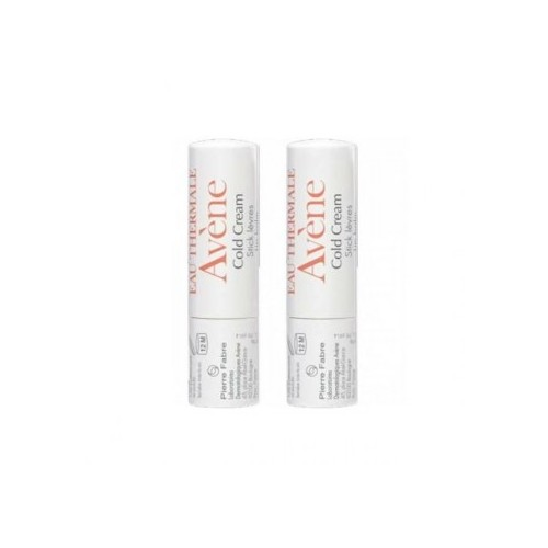 AVENE COLD CREAM STICK LABIAL NUTRITIVO PACK DUO 2 X 4 G