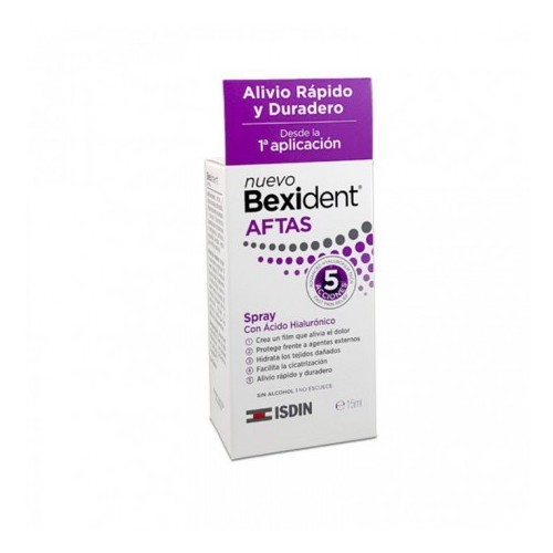 ISDIN BEXIDENT AFTAS SPRAY BUCAL PROTECTOR 15 ML