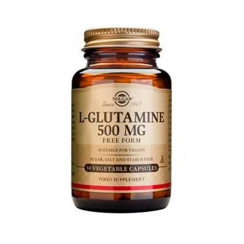 SOLGAR L-GLUTAMINA 500 MG 50CAPS