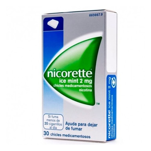NICORETTE ICE MINT 2 MG 30 CHICLES