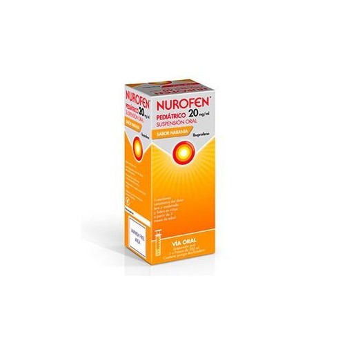 NUROFEN EFG 20 MG/ML SUSPENSION ORAL 200 ML NARANJA